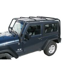Trail FX J021T Roof Rack For 2007-2018 Jeep Wrangler JK Doors With Naked Roof