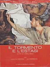 DVD the Torment and L'Ecstasy with Charlton Heston New 1965