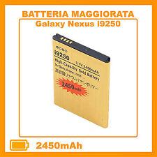 Batteria Gold PER SAMSUNG GALAXY NEXUS i9250 2450mAH