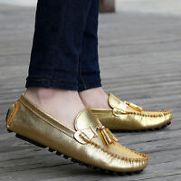 Men Casual Womens Loafers Shoes Lover Driving Boat Silp On Comfort sole Shoes sz