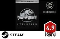 Jurassic World Evolution Deluxe Edition [PC] Steam Download Key