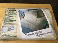 Vintage Wamsutta KING Fitted Sheet Daisy Daze Flower Superlin Brand NEW