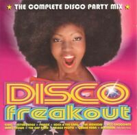 DISCO FREAKOUT - THE COMPLETE DISCO PARTY MIX various (2X CD compilation, mixed)