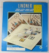 LINDNER Finland booklets 1988-1998 Luxury stamp album pages - ref T129H88 NEW
