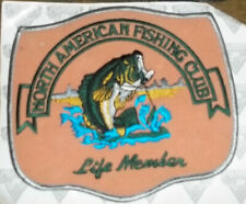 New North American Fishing Club Life Member Large Patch Iron On