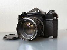 CANON F-1 + CANON FD 50mm F1.4