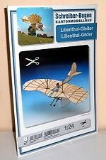 + KARTONMODELLBAU  Lilienthal-Gleiter  SCHREIBER-BOGEN 566 Cardboard Modelling