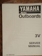 YAMAHA OUTBOARD SERVICE MANUAL 3HP 3V LIT-18616-01-63 MOTOR ENGINE MARINE BOAT