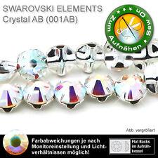 25 cristales swarovski 53103, 6,4 mm, Crystal a partir de (piedras en calderas para aufnähen)