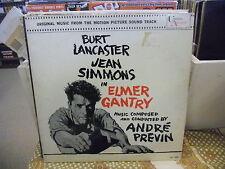 Elmer Gantry/The Vikings Soundtrack vinyl LP VG+ United Artists Andre Previn