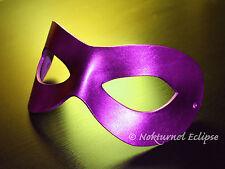 Purple Superhero Leather Mask Harley Quinn Batman Halloween Masquerade UNISEX
