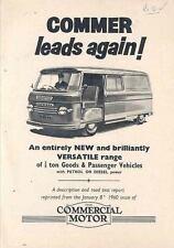 1960 Commer 3/4 Ton Van Brochure wl7396-MZKWPS