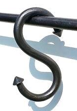 """Handmade Big S Hook 4.1"""" Wrought Iron Kitchen Pot Pan Hanger Holder Rack Garden"""