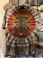 Iron Maiden Shirt M 1987 Vintage Tour Shirt Somewhere In Time