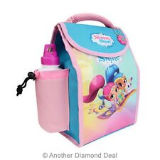 SHIMMER AND SHINE DELUXE INSULATED LUNCH BAG WITH BOTTLE BRAND NEW