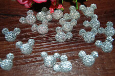 40 Pcs  Mickey Flat Back Resin DIY mobile phone case decoration cosmetic resin