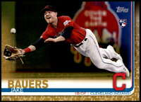 Jake Bauers 2019 Topps Update 5x7 Gold #US256 RC /10 Indians