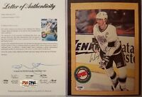 PSA/DNA LOA Wayne Gretzky HOF LOS ANGELES KINGS LA SIGNED 8x10 MAG CUT OUT PHOTO