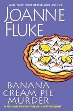 A Hannah Swensen Mystery Ser.: Banana Cream Pie Murder by Joanne Fluke (2017, Hardcover)