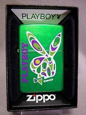 "Zippo - ""PLAYBOY  GREEN  BUNNY"" -  NEU & ovp - 382"