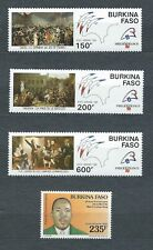 AFRIQUE BURKINA FASO - 1988-89 YT 321 à 324 PA / AIR MAIL - NEUFS** MNH