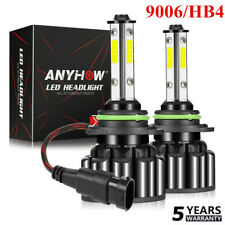 4-Sides 9006 HB4 LED Headlight Kit 2800W 560000LM Foglight Bulbs 6000K White USA
