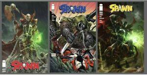 Spawn #320 Cover A B C Variant Set Options Image Comics Lot Of 3