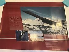 AIR FORCE PRIDE POWER PEACE B-1B, B-52, & B-2 POSTER VERY RARE! LIKE NEW