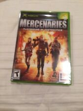 MERCENARIES Playground Of Destruction Xbox Video Game In Slightly Used Shape