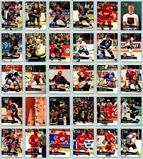1991-92 PRO SET NHL HOCKEY Card Set COMPLETE (1 - 345) Gretzky Barilko RC Jagr