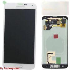 Pantalla Samsung Galaxy S5 G900f blanca original Gh97-15959a