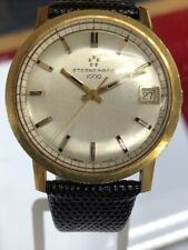 ETERNA-MATIC 1000 AUTOMATIC 35 MM 14k YELLOW GOLD Unique MEN WRIST WATCH