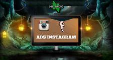 SOCIAL WEB MARKETING • Servizio pubblicità • INSTAGRAM