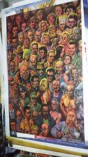 "Preacher Cast Ensemble Retail 24"" x 36"" Poster by Glenn Fabry 2000 DC Vertigo"