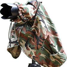 Pro Rain Cover DSLR Camera Camcorder CAMOUFLAGE Pixel for Pentax Canon Nikon (L)