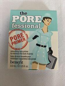 Benefit The POREFESSIONAL Pro PRIMER 3 ml TRAVEL SIZE BNIB