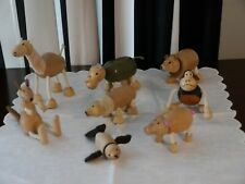 Anamalz wooden toys 8 pc