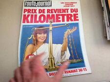 """REVUE  """" L' AUTO JOURNAL """" N° 1  ANNEE  1977  *"""