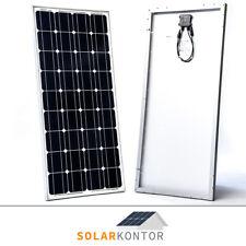 SolarKontor Mono 100Watt 12V Solarmodul Solarpanel Monokristallin 100W Wohnmobil