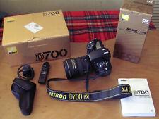 Nikon D700 12.1MP Digital SLR Camera Full Frame + Nikkor 17-55mm+charger+remote+
