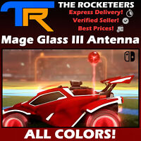 [SWITCH] Rocket League All Painted MAGE GLASS III Limited Antennas Rocket Pass
