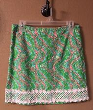 Lilly Pulitzer Ladies Chomp Chomp Skirt Size 6  Spring Summer