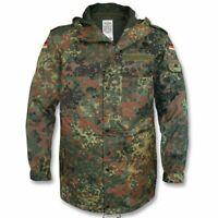 Parka Armée Allemande taille M camouflage Flecktarn bundeswehr