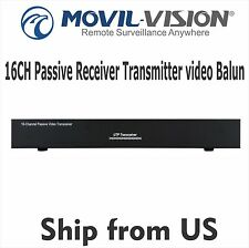 16 Channel Passive Receiver Transmitter video Balun for CCTV Camera MSS-1600