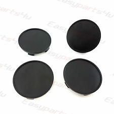 4x Centre Caps for ALLOY WHEEL HUB 68.5 - 64.0 mm BMW Honda Black
