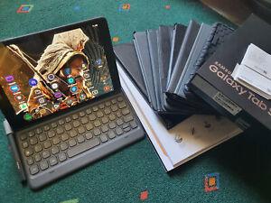 "Samsung Galaxy Tab S3 9,7"" 32 Go Wi-Fi + 4G LTE - Noire (Désimlocké) + 9 coques"