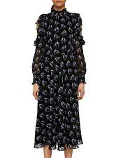 Ted Baker Hilania Love Birds Cold Shoulder Dress SZ3/UK12