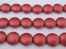 100 Czech Pressed Glass Metallic Silver Notched 6x4mm Rondelle Beads