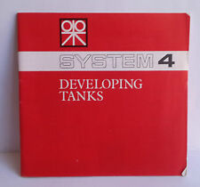 D14> Manuale istruzione System 4 Developing Tanks