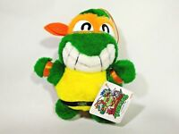 Teenage Mutant Ninja Turtles MichaelAngelo Plush Doll Japan Takara 1992 TAG 6.5""